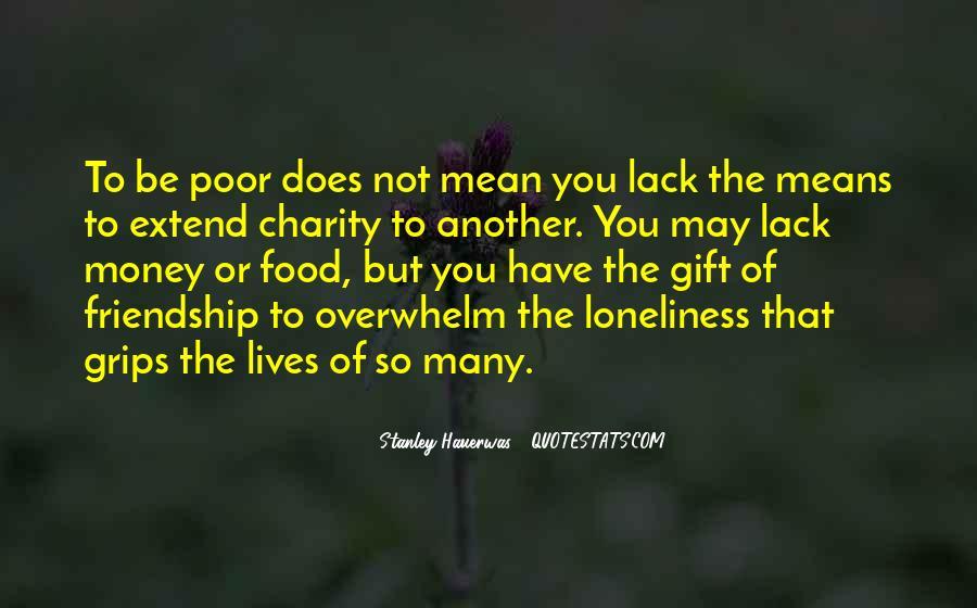 Quotes About Money Vs Friendship #288761