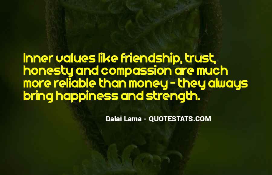 Quotes About Money Vs Friendship #411589