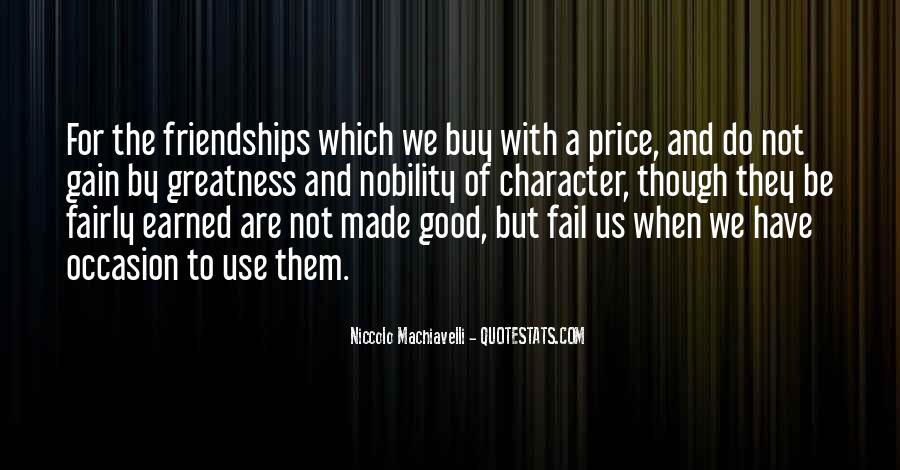 Quotes About Money Vs Friendship #812462
