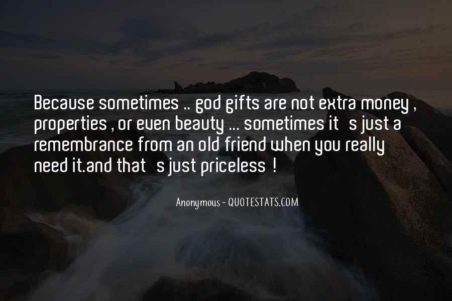 Quotes About Money Vs Friendship #933098