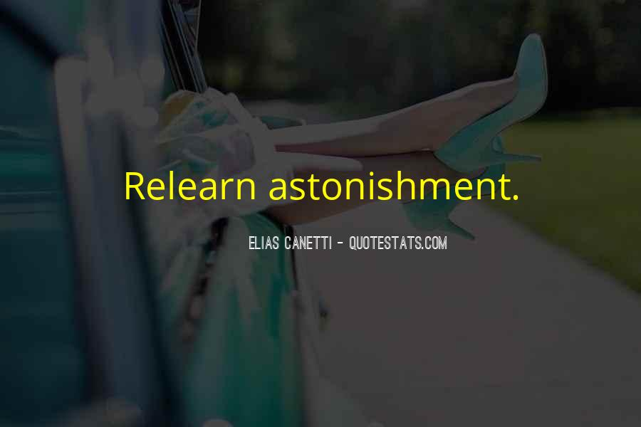 Quotes About Astonishment #185846