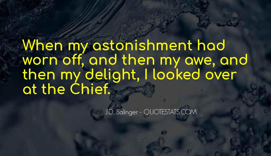 Quotes About Astonishment #403688