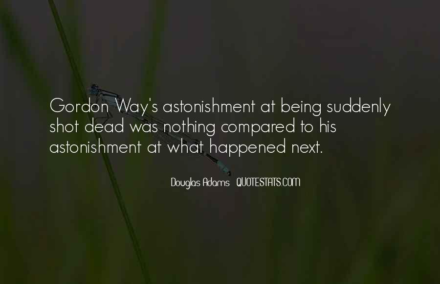 Quotes About Astonishment #645265