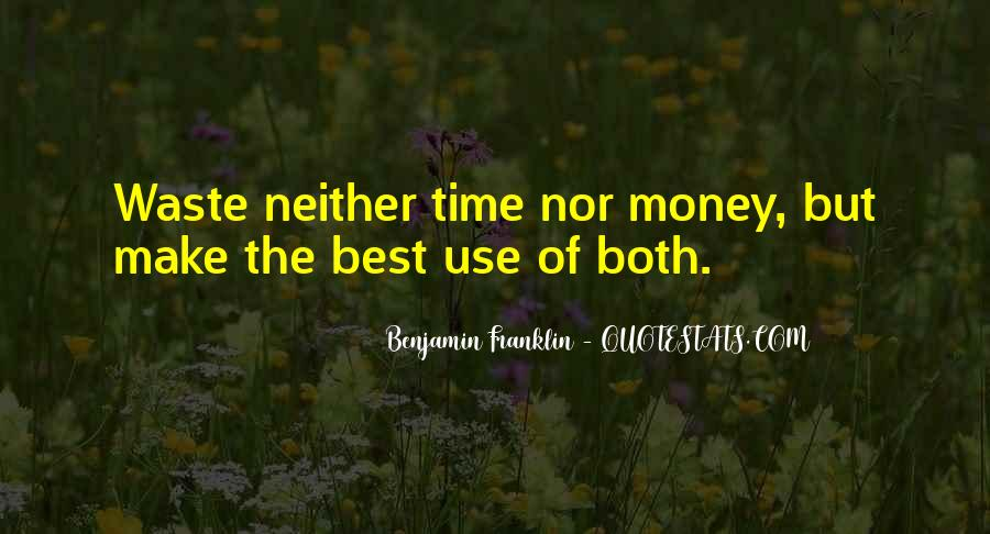 Quotes About Waste Of Time #117557