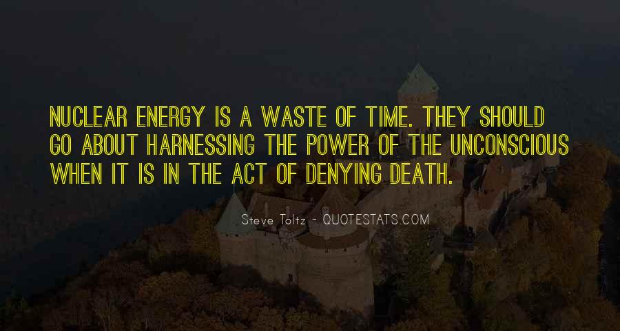 Quotes About Waste Of Time #1363