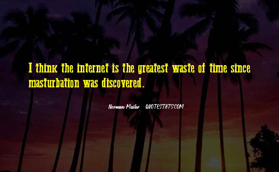 Quotes About Waste Of Time #143251