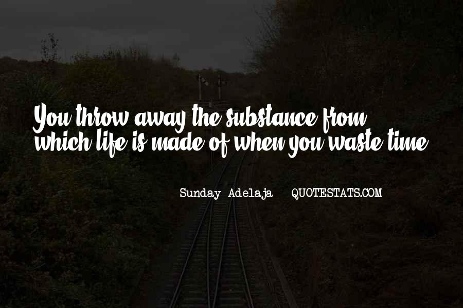 Quotes About Waste Of Time #144030