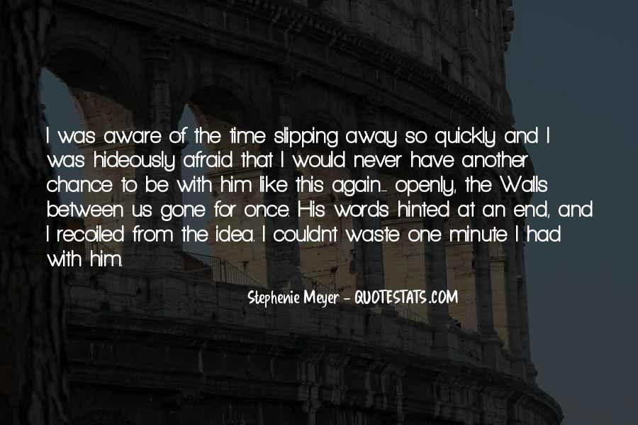 Quotes About Waste Of Time #52666