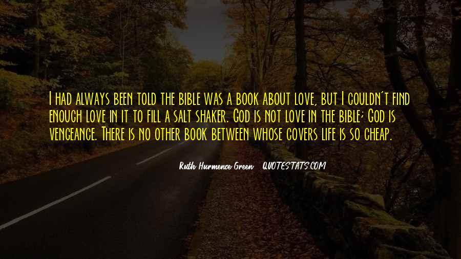 Quotes About Life And Love From The Bible #715876