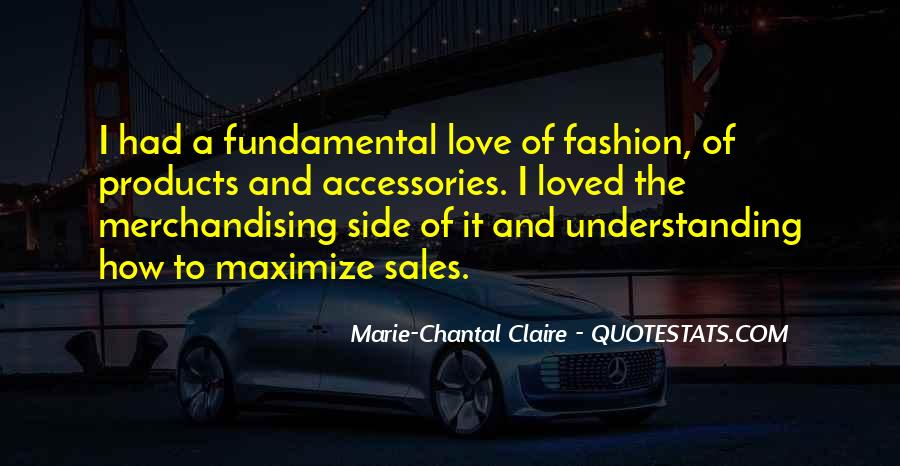 Quotes About Fashion Merchandising #1455611