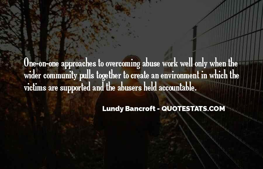 Quotes About Abusers #106759