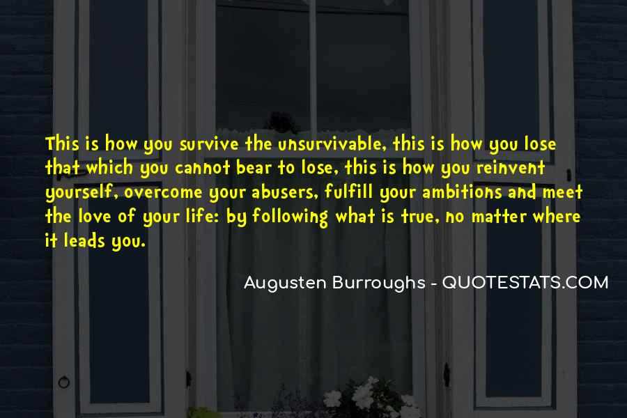Quotes About Abusers #1363808