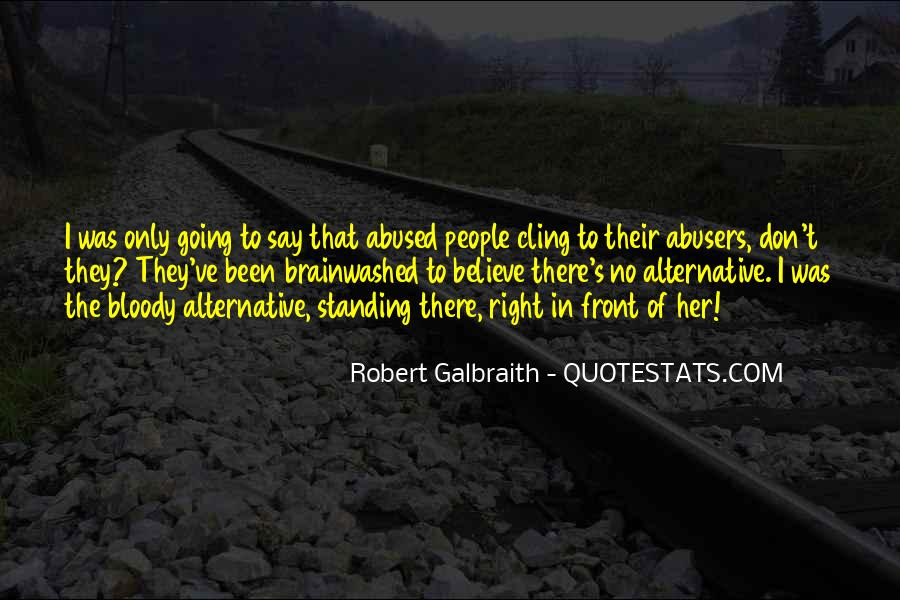 Quotes About Abusers #1474456