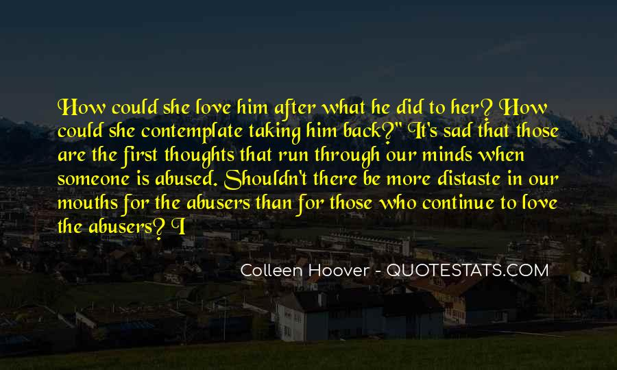 Quotes About Abusers #1621334