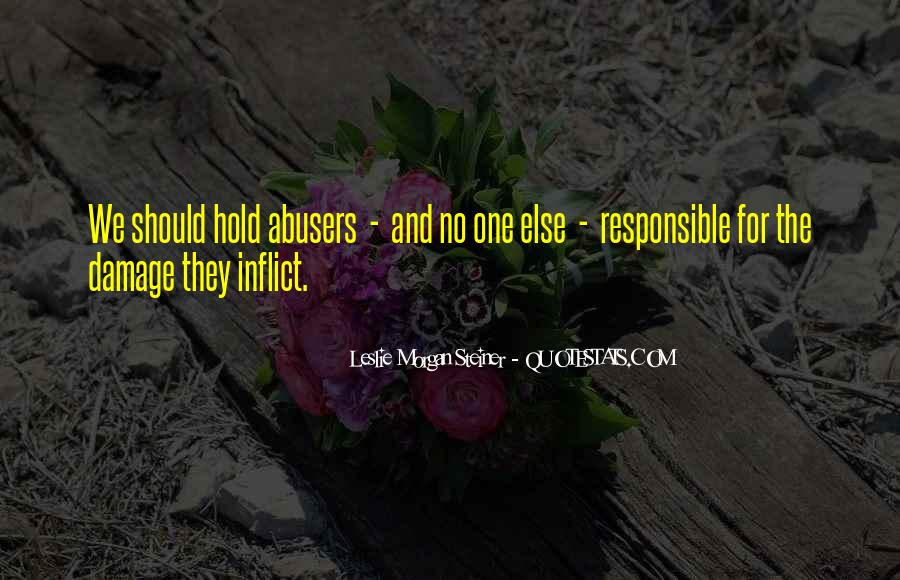 Quotes About Abusers #341740
