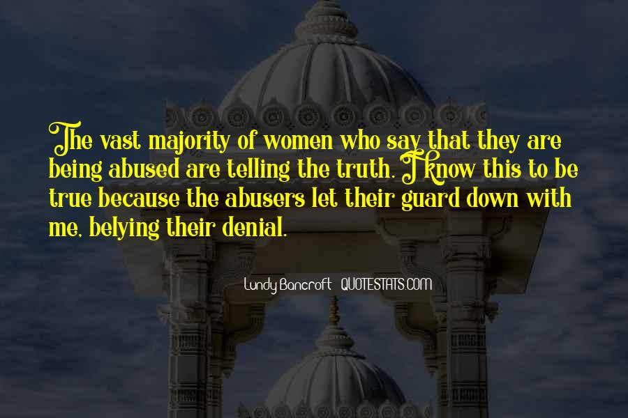 Quotes About Abusers #621264