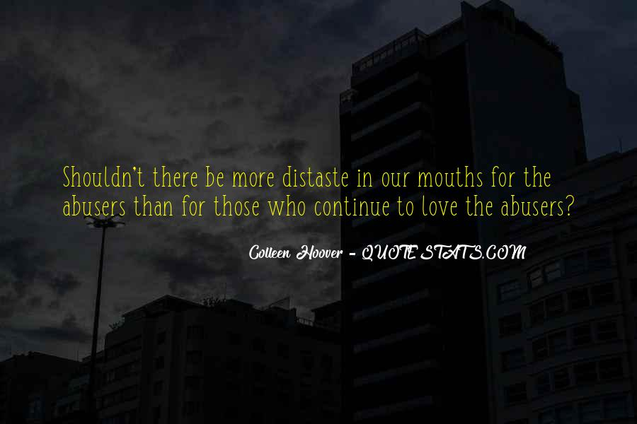 Quotes About Abusers #792244