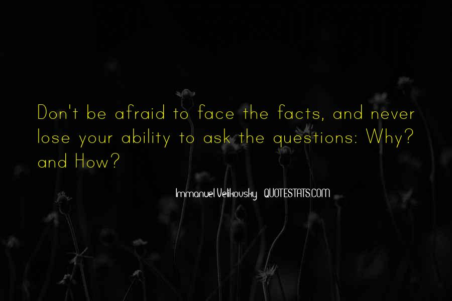 Quotes About Afraid To Lose #1736522