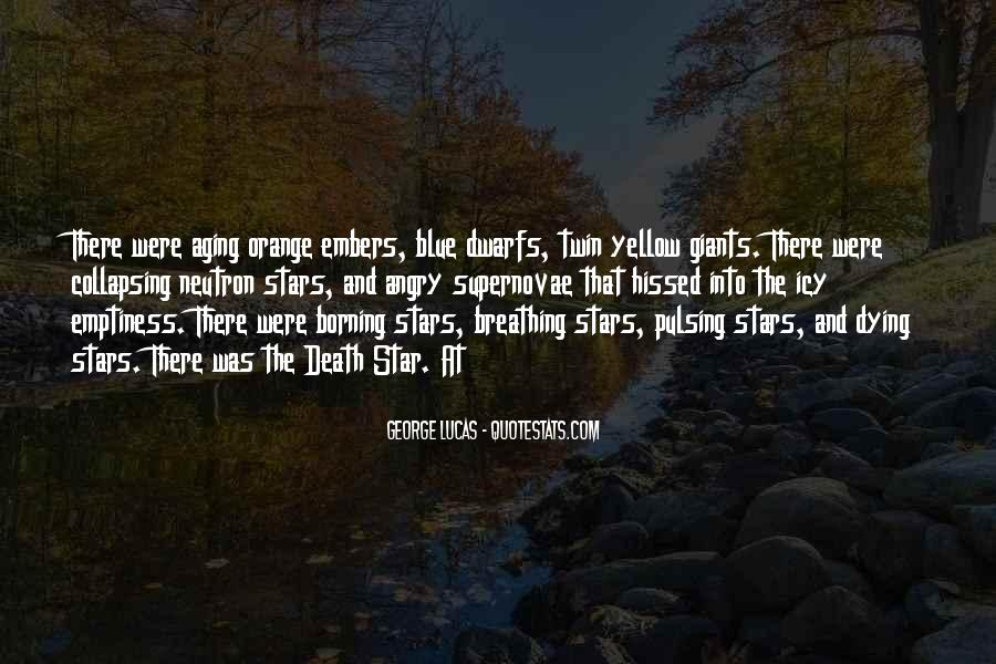 Quotes About Dying Stars #1577494