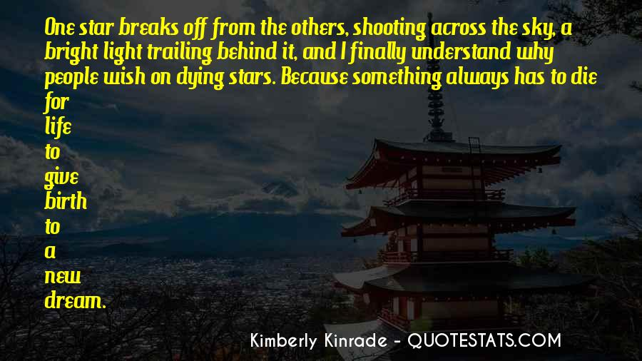 Quotes About Dying Stars #612225