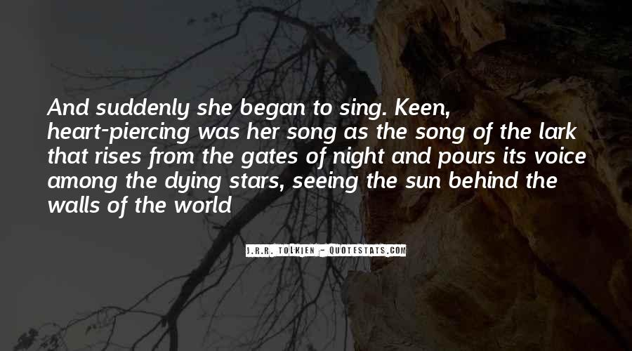 Quotes About Dying Stars #970558