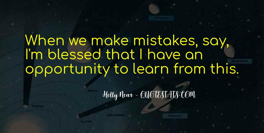 Quotes About Opportunity To Learn #130425