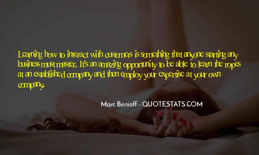 Quotes About Opportunity To Learn #264421