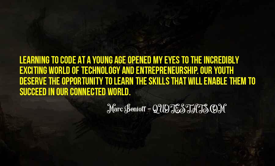 Quotes About Opportunity To Learn #296777
