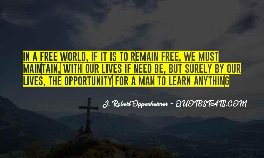 Quotes About Opportunity To Learn #441141