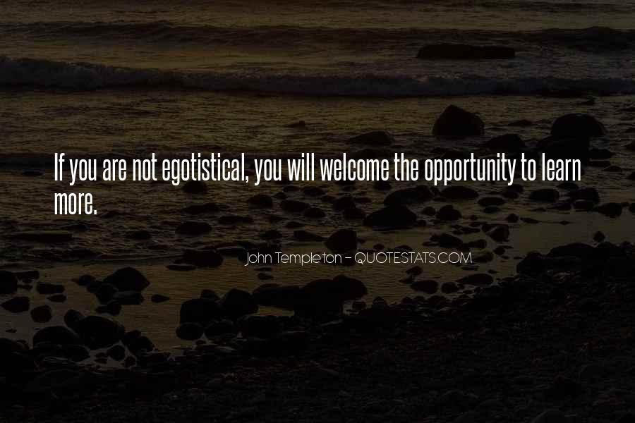 Quotes About Opportunity To Learn #444910