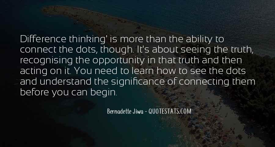 Quotes About Opportunity To Learn #448062