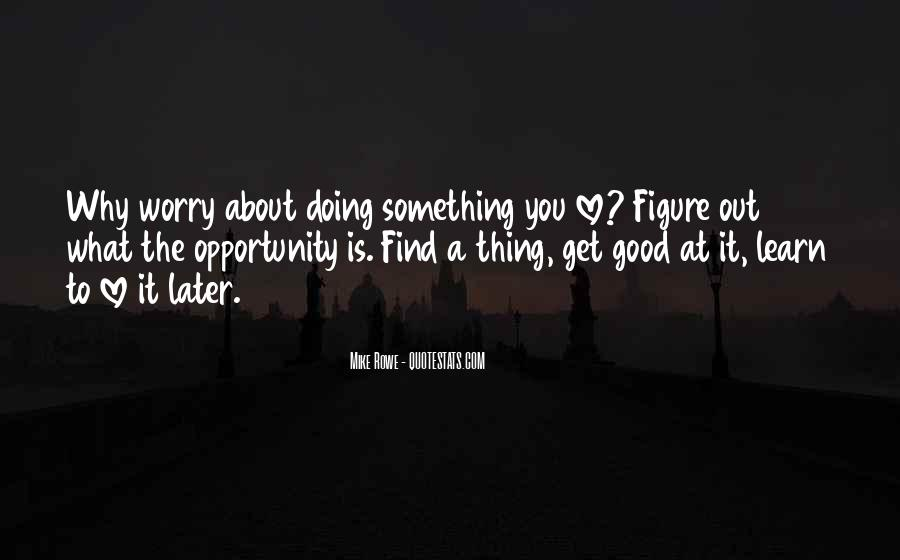 Quotes About Opportunity To Learn #453470
