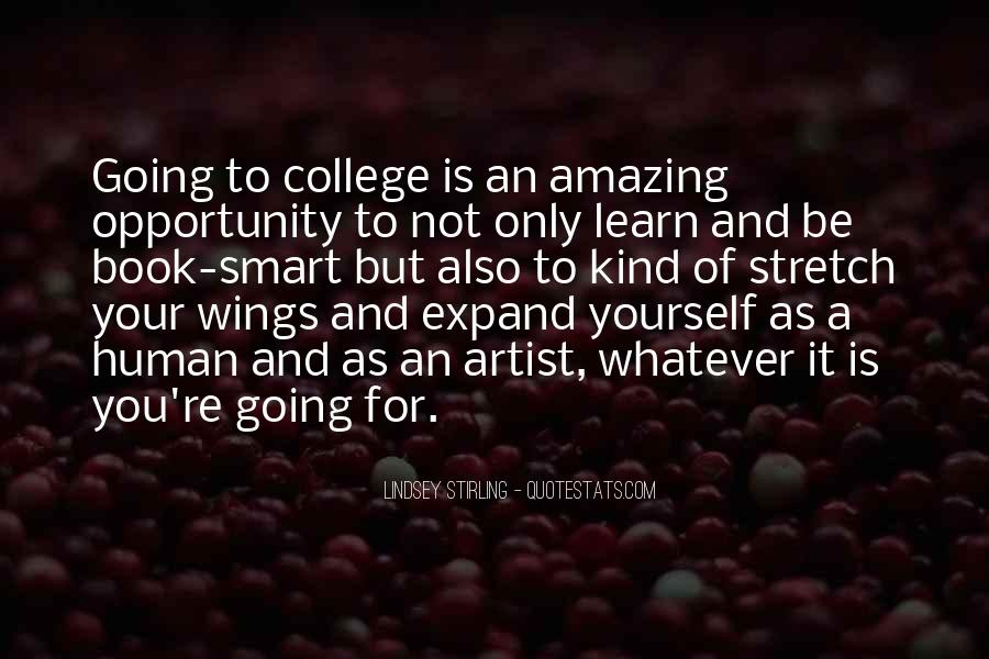 Quotes About Opportunity To Learn #712296
