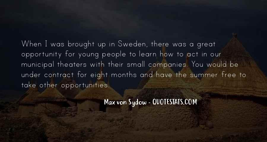 Quotes About Opportunity To Learn #826832