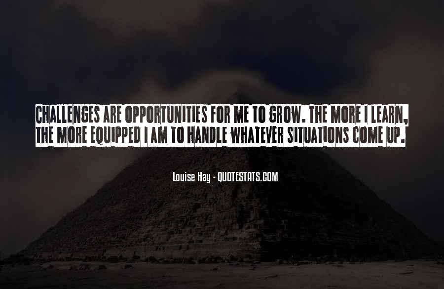 Quotes About Opportunity To Learn #847320