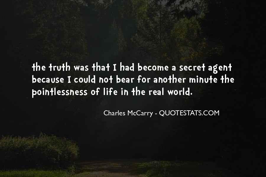 Quotes About Secret Agent #1081745
