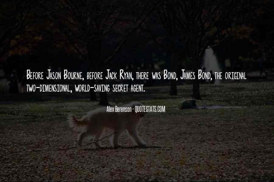 Quotes About Secret Agent #1127311