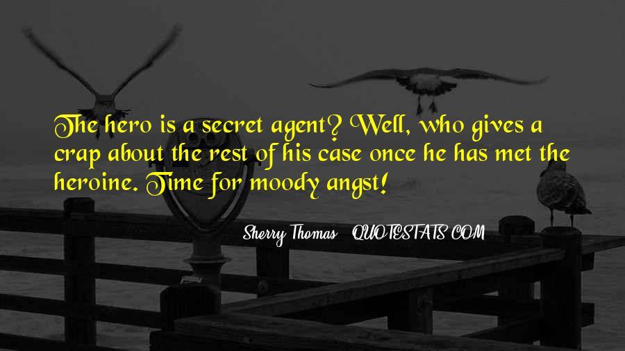 Quotes About Secret Agent #131324