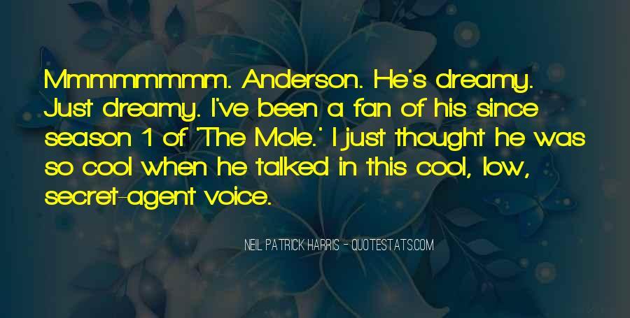 Quotes About Secret Agent #169620