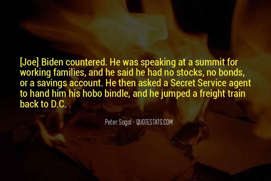Quotes About Secret Agent #1838490