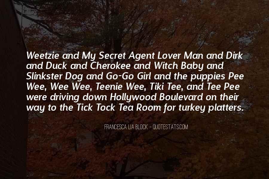 Quotes About Secret Agent #272269