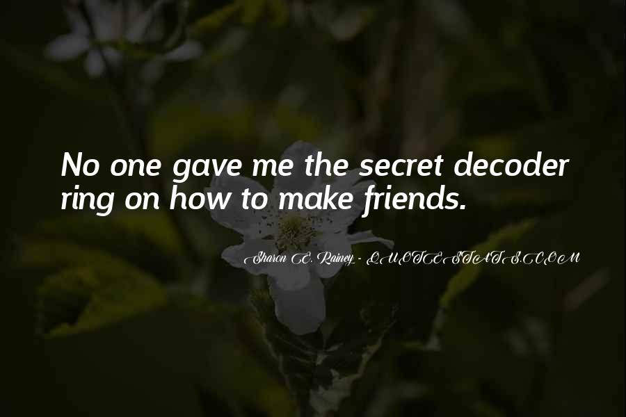 Quotes About Secret Agent #573989