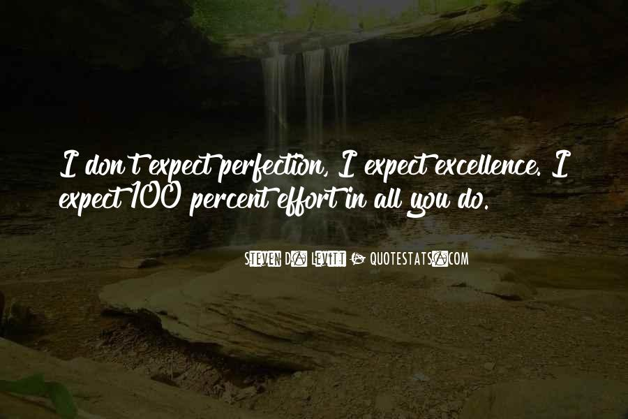 Quotes About 100 Percent Effort #625101