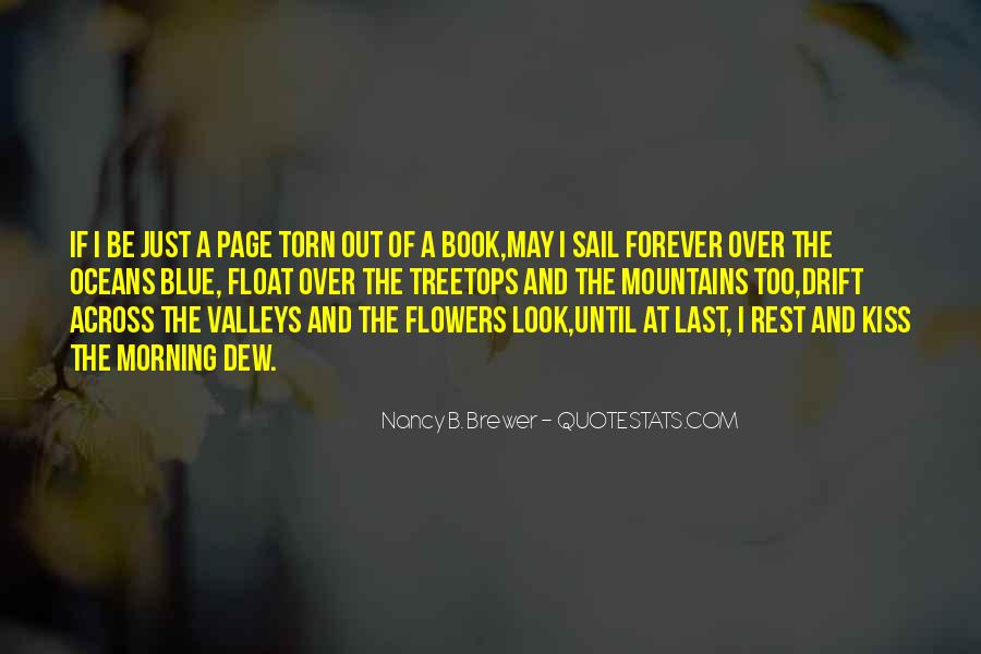 Quotes About Flowers In The Morning #928595