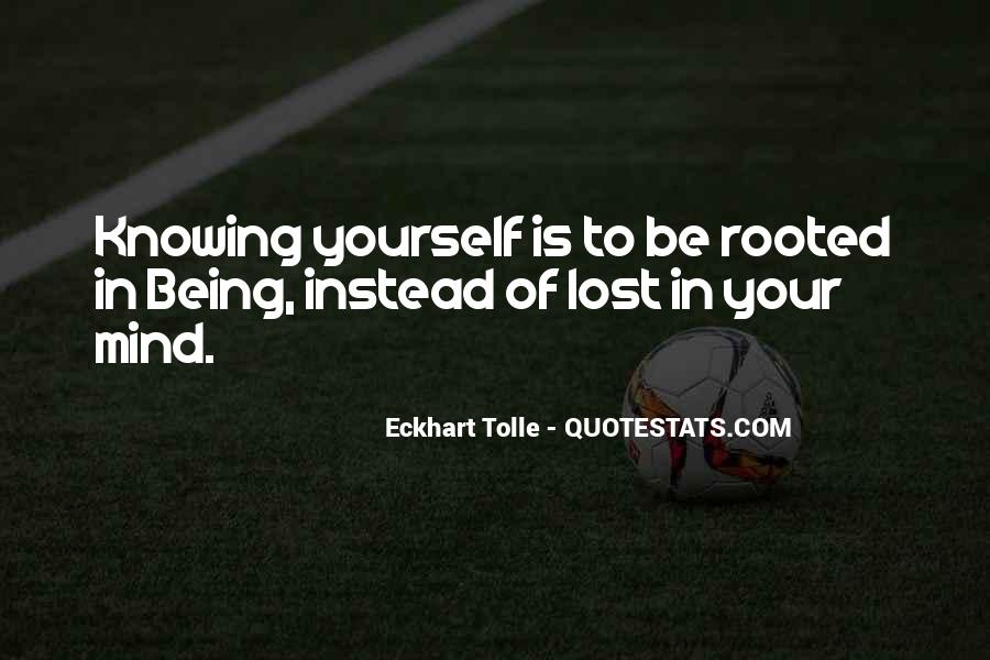 Quotes About Being Yourself #20847