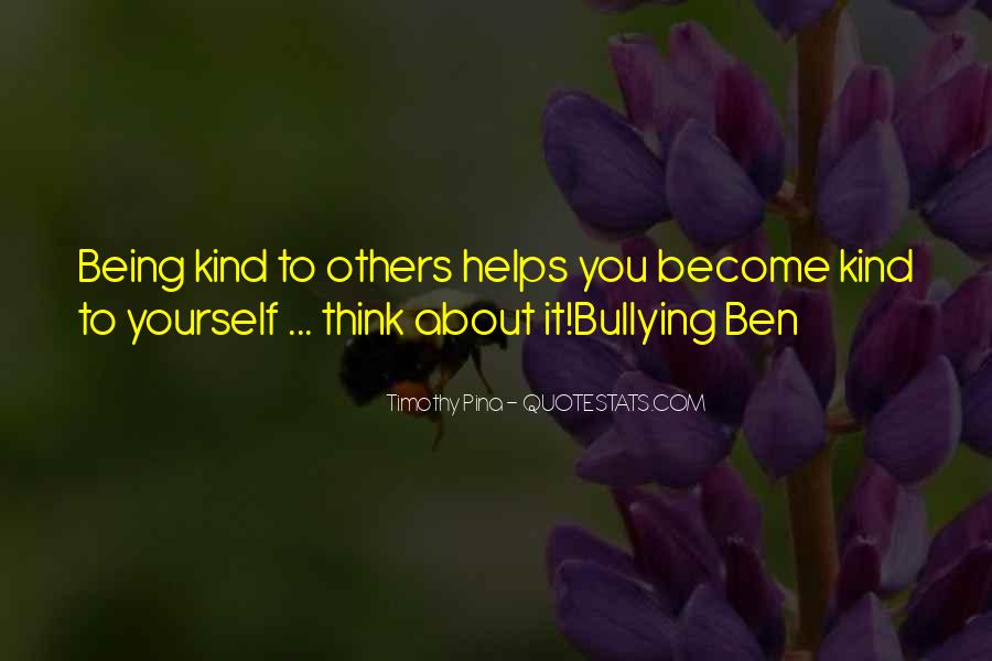 Quotes About Being Yourself #34824