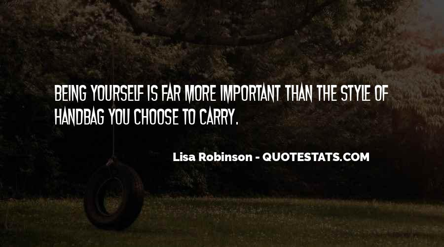 Quotes About Being Yourself #45807