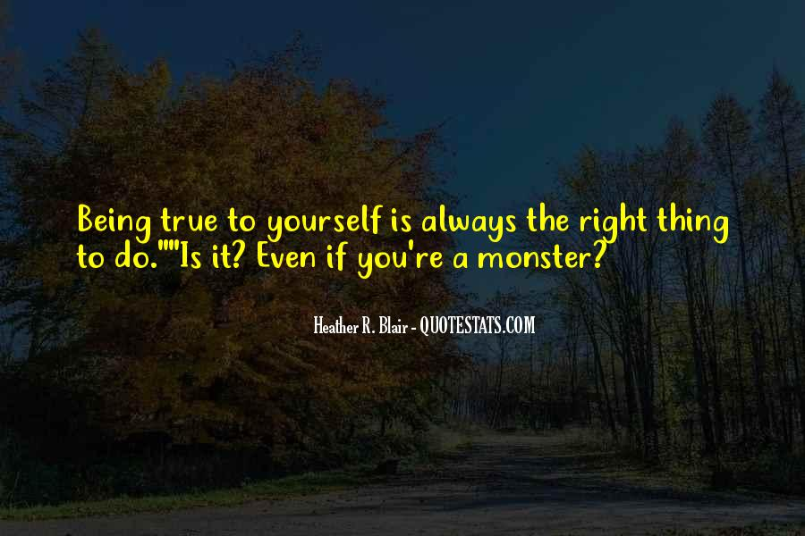 Quotes About Being Yourself #52764