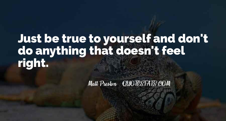 Quotes About Being Yourself #57923