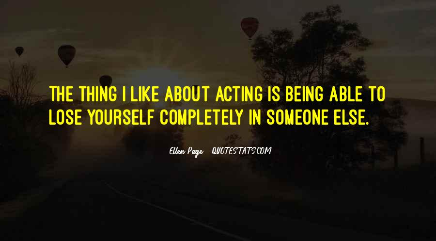 Quotes About Being Yourself #66872